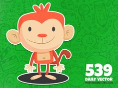 539 - Happy monkey (To see them all click on the image)