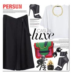 """Persunmall"" by oshint ❤ liked on Polyvore featuring Giuseppe Zanotti, Arche, Marc Jacobs, cool and persunmall"