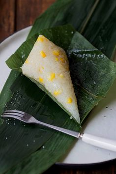 zongzi for dragon boat festival-use vegan friendly filling like corn, red bean paste or mixed rice with red dates