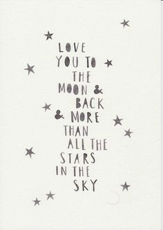 Love quote : Love quote : Monochrome Nursery Kids Room Wall Art Scandi Nursery Wall Art Minimalist Watercolor Art Nordic Nursery Decor To The Moon And Back Quotes To Live By, Me Quotes, Love You Quotes, New Baby Quotes, Monochrome Nursery, The Words, Family Quotes, Favorite Quotes, Encouragement