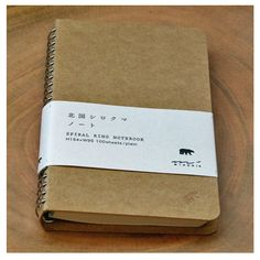 Kraft Spiral Ring Notebook : Japanistic: Style