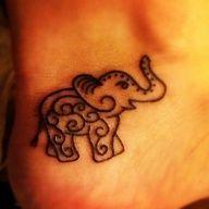 Eleyy (: To Cutee Looks like henna!