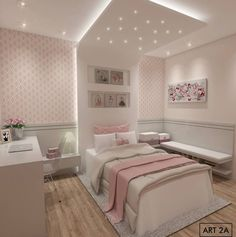 61 Ideas Bedroom Ideas For Small Rooms For Teens For Girls Pink