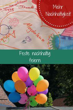 Party in Green- so feiern wir Feste nachhaltig: Charis erzählt – Taufe, Hochzeit, Geburtstag und Co