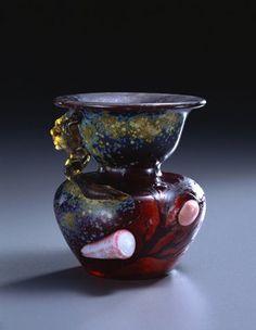 エミール・ガレ 《貝の付いた壺》 1903年頃