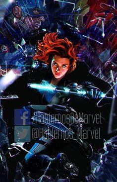 Promo art for Captain America: Civil War