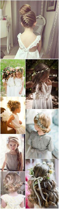 Splendid Flower Girls » 22 Adorable Flower Girl Hairstyles to Get Inspired »     See more:  www.weddinginclud…  The post  Flower Girls » 22 Adorable Flower Girl Hairstyles to Get Inspired »   ❤️ ..