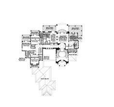 Luxury House Plan Second Floor - 106S-0072 | House Plans and More