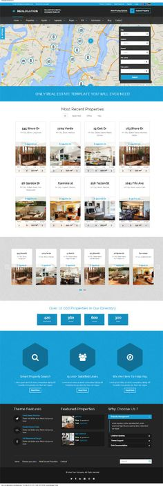 #Realocation Modern #RealEstate #WordPress Theme