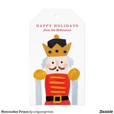 Shop Nutcracker Prince Gift Tags created by origamiprints. Christmas Quotes, Christmas Gift Tags, Christmas Holidays, Christmas Crafts, Christmas Presents, Christmas Ideas, Prince, Nutcracker Christmas, Custom Ribbon