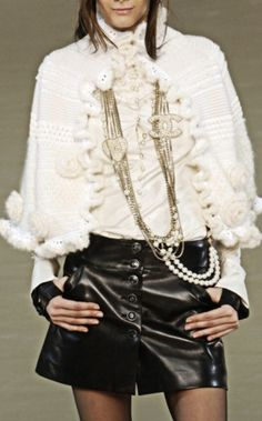 Chanel...love the large double cc on necklace