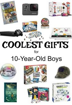 Christmas Gift 10 Year Old Boy, 10 Year Old Gifts, Teenage Girl Gifts Christmas, 12 Year Old Boy, Christmas Time, Christmas Ideas, Tween Boy Gifts, Gifts For Teen Boys, Cool Gifts For Kids