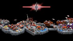 LEGO StarCraft: Terran  #Lego #LegoMoc #LegoMocs #Moc #Mocs #Starcraft