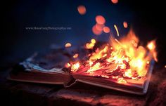 In a burning memories