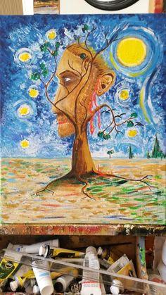 @juustintmbrlake vincent van Gogh is fading away in his own painting