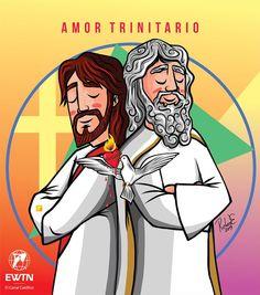 Jesus Art, My Jesus, Jesus Christ, Christian Drawings, Christian Art, Religious Images, Religious Art, Jesus Cartoon, I Love You God