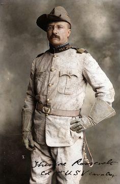 Image: Mads Madsen 1. Theodore Roosevelt
