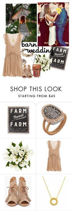"""Best Dressed Guest: Barn Weddings"" by likeastarrr ❤ liked on Polyvore featuring Primitives By Kathy, Alor, Chloé, Dsquared2, bestdressedguest and barnwedding"