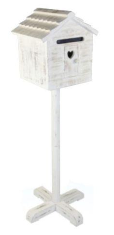 Vogelhaus Briefkasten aus Holz Impressionen