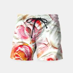 Roses On Fire Swim Shorts thumbnail image