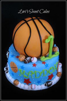 Basketball hoop cake Basketball hoop Cake and Birthdays