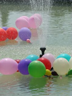 Adults can have a blast playing water balloon games. Invite a group of your friends together, and inform them that you have a fun afternoon planned if they are willing to get wet. Below are fun water balloon games adults can play. Water Party Games, Water Balloon Games, Water Balloons, Water Games, Pool Games, Water Play, Outdoor Water Activities, Fun Summer Activities, Mutual Activities