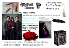the vampire diaries by mayleneholm on Polyvore