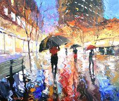 Rain Painting  © Dmitry Spiros (Cancun, Mexico)