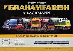 Bachmann Graham Farish N-Gauge Class 150 DMU Sprinter Set