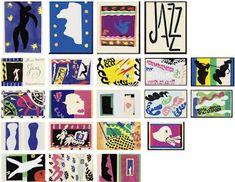 """""""Jazz"""" (série de 20 gravuras em papel recortado) (1947) Henri Matisse"""