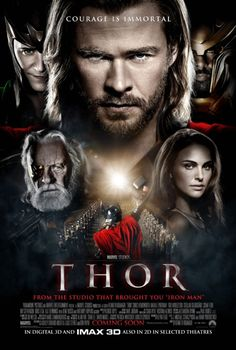 I love blustery arrogant Thor. I love fish out of water Thor. I love ass kicking Thor. And I love adorable Thor the most. Though worthy of the throne Thor is nice too. Films Marvel, Marvel Movie Posters, Marvel Cinematic, Marvel Dc, Thor 2011 Full Movie, Love Movie, Movie Tv, Sir Anthony Hopkins, Bon Film