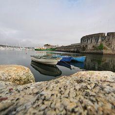 #concarneau #Finistère #myfinistere #Bretagne #sea #mer #bateau #boat #seascape #vauban #rempart via @pascellelevautbien