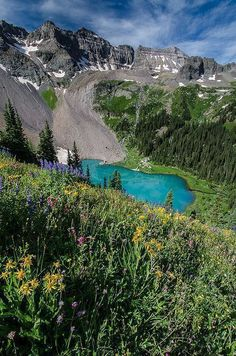 Blue Lake, Colorado- went hiking/backpacking here before. This world is really awesome. The woman who make our chocolate think you're awesome, too. Please consider ordering some Peruvian Chocolate today! Fast shipping! http://www.amazon.com/gp/product/B00725K254 #TravelDestinationsUsaColorado #backpackingcolorado