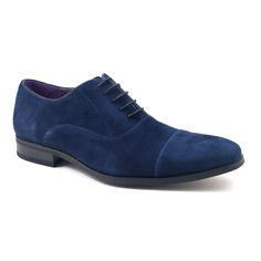 Find Mens blue suede oxford shoes which are a vibrant addition to your wardrobe. A great alternative to the leather oxford, these are £89.95 plus free del.