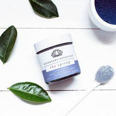 Exfoliating & Moisturising Sugar Scrub: The Spring (Unscented, Soothing Blue Clay & Indigo Leaf)
