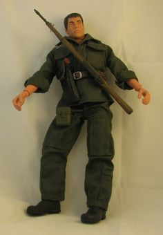 'WW II US Army Staff Sergeant GI Joe' is going up for auction at  2pm Mon, Jun 18 with a starting bid of $30.