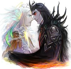 Brothers - Manwë and Melkor -Manwë could not comprehend evil and that is how Melkor beccame as powerful as he did. He was underestimated
