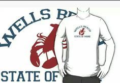 Wells Beach Wear. #wellsbeach  #maine  Available in redbubble and cafepress.