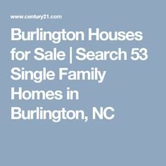 Burlington Houses for Sale   Search 53 Single Family Homes in Burlington, NC