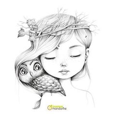Creative Drawing Pre-order Coloriage Wild 3 Coloring book by Emmanuelle Colin Pencil Art Drawings, Art Drawings Sketches, Cute Drawings, Colouring Pages, Adult Coloring Pages, Coloring Books, Mandala Coloring, Coloring Sheets, Art Du Croquis