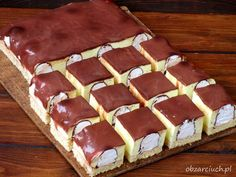 Polish Desserts, Polish Recipes, Cookie Desserts, Dessert Recipes, Homemade Cakes, Sweet Treats, Deserts, Food And Drink, Cooking Recipes