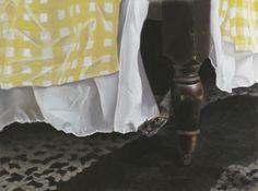 "Waiting for Mom, pastel, 16"" x 23"", 1988 © B.E. Kazmarski"