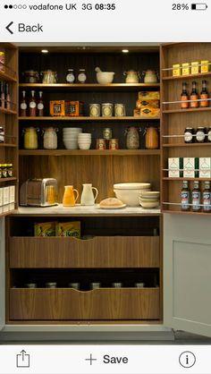 Gorgeous kitchen cupboard