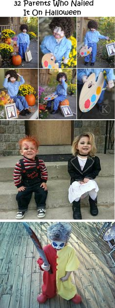 32 Parents Who Nailed It On Halloween - http://homerepairimprovementremodeling.com/2013/10/32-parents-nailed-halloween/
