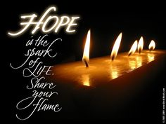 Hope Wallpaper: Hope is the spark of life share your flame Inspirational Desktop Wallpaper, Motivational Wallpaper, Inspirational Quotes, Relief Society Lessons, Build A Better World, Never Lose Hope, Uplifting Thoughts, Gods Not Dead, Word Of Faith