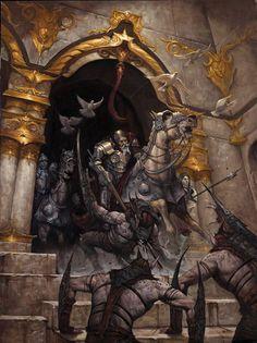 La charge de Theoden