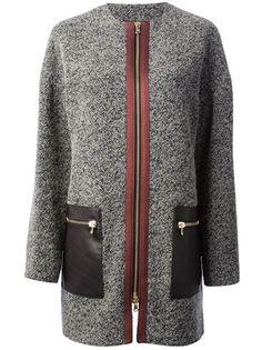 ETRO Bouclé Knit Coat #farfetch