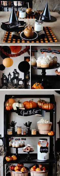 Party-Themed Décor Ideas For Halloween