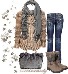 """Fall Outfit..."" by sweetlikecandycane on Polyvore"