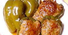 ジュワ~っとジューシーな肉詰め♪  煮込むことで火の通りも良く焼き過ぎてお肉がパサつく心配もありません(`・ω・´)!